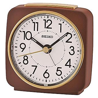 Seiko QHE140B-Unisex analogue alarm clock