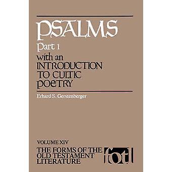 Psaumes partie 1 avec une Introduction à la poésie sectaire par Gerstenberger & Erhard S.
