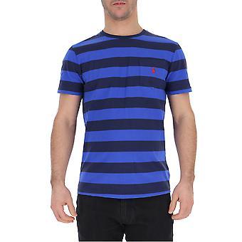 Ralph Lauren blau Baumwoll T-shirt