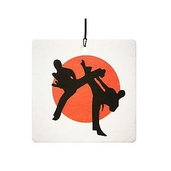Artes marciales Karate ambientador de aire
