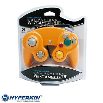 Wii/GameCube CirKa 控制器橙色控制器