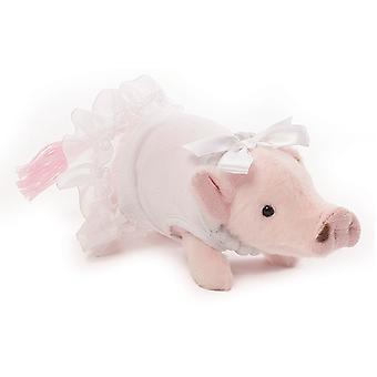 Prissy Pig Formal (White Dress)