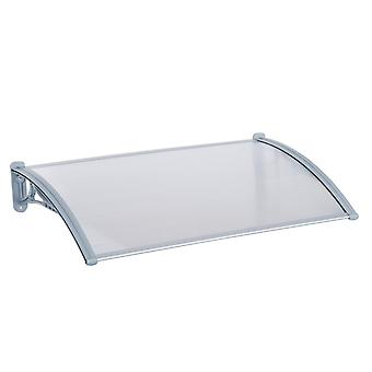Outsunny Door Awning Cover Bracket Canopy Patio Porch Window 140cm x 70cm