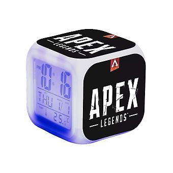 Digital Väckarklocka - Apex Legends, Black Logotype
