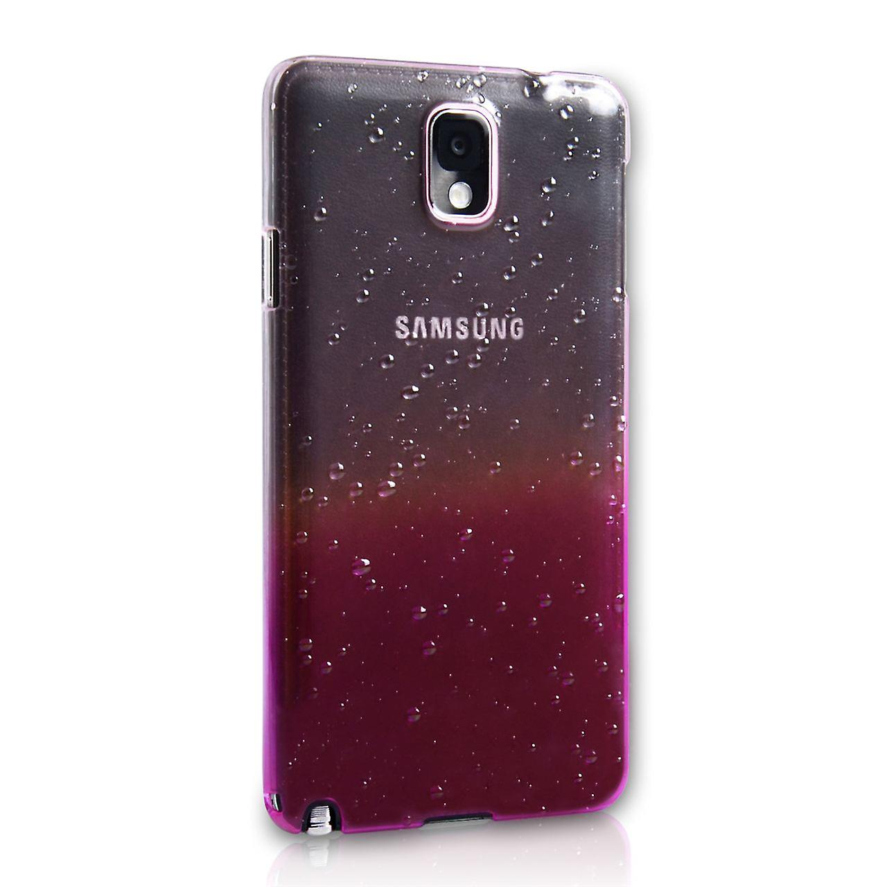 Yousave Accessories Samsung Galaxy Note 3 Waterdrop Hard