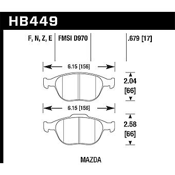 Hawk Performance HB449F. 679 HPS