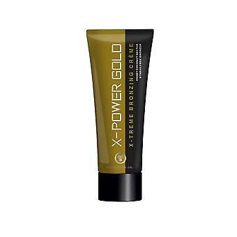 Power Tan X-Power Gold Dark Natural Skin Tanning Hemp Bronzer Lotion - 250ml