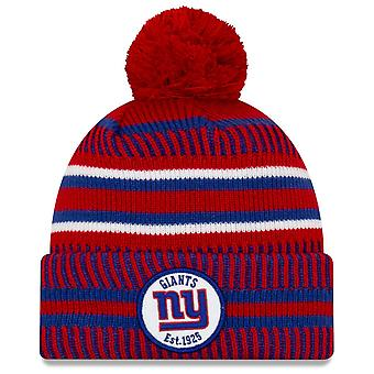 Uusi Era Sideline Home 2019 Bommel Hat New York Giants
