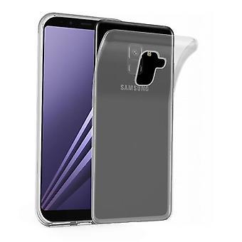 Cadorabo Case for Samsung Galaxy A8 2018 Case Cover - Mobile Phone Case made of flexible TPU silicone - Silicone Case Protective Case Ultra Slim Soft Back Cover Case Bumper