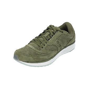 Saucony FREEDOM RUNNER GREEN Damen Herren Sneaker Grün Turn-Schuhe Sport Lauf