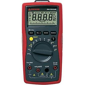 Handheld multimeter digital Beha Amprobe AM-530-EUR Calibrated to: Manufacturer standards CAT II 1000 V, CAT III 600 V