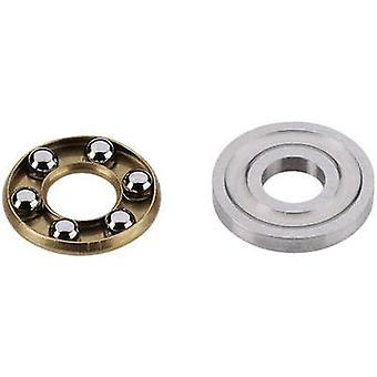 Reely Deep groove ball bearing (axial) Chrome steel Inside diameter: 4 mm Outside diameter: 10 mm Max. RPM: 15000 rpm