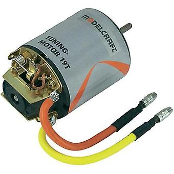 Modelcraft Tuning Electric motor 7.2 Vdc Idle speed 22787 rpm turns 19