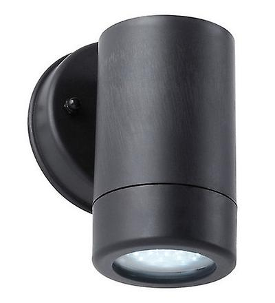 Endon EL-40053 Polycarb Single Downlight Wall Bracket In Black