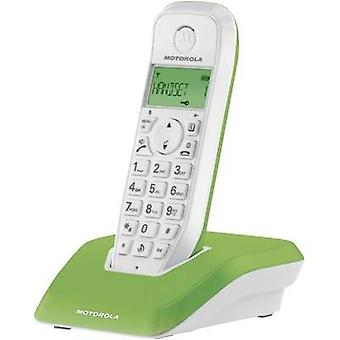 Cordless analogue Motorola STARTAC S1201 GRUEN Green, White