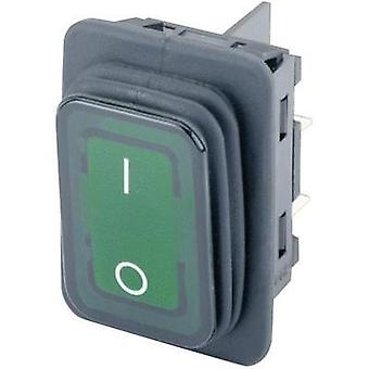 Toggle switch 250 Vac 20 A 2 x Off/On Marquardt 1935.3118 IP65 latch 1 pc(s)