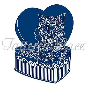 Tattered Lace chocolade vak Kitty sterven