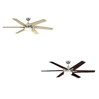 Westinghouse ceiling fan Cayuga Brushed Nickel with light