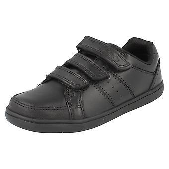 Школа для мальчиков Clarks обувь Holbay Go