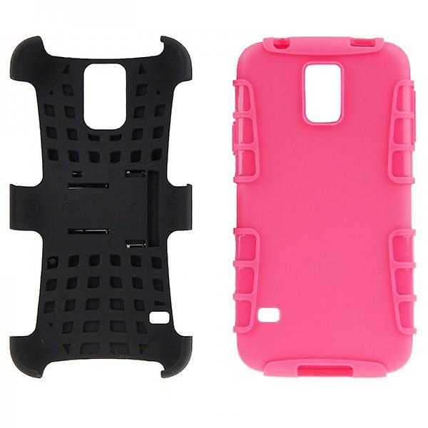 Hybrid Case 2teilig Robot Pink for Samsung Galaxy S5 Mini
