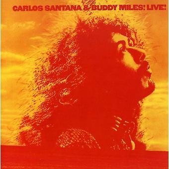Santana/Miles - Live [CD] USA import