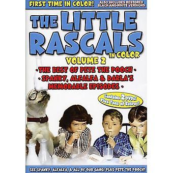 Lille slyngler i farve - den lille slyngler: I farve, Vol. 2 [2 Discs] [DVD] USA import