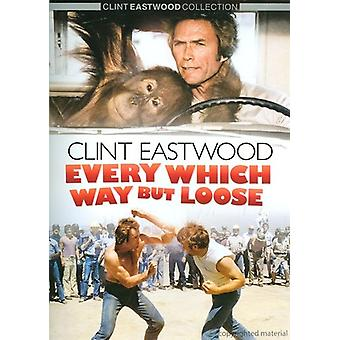 Clint Eastwood - Every Which Way aber locker [DVD] USA import