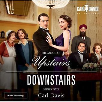 Carl Davis - The musik af ovenpå nedenunder, serie 2 [CD] USA importerer