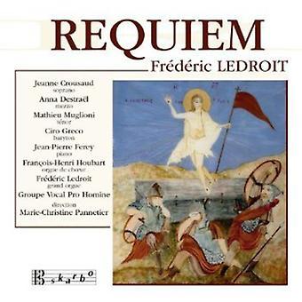 Ledroit - Fr D Ric Ledroit: Requiem [CD] USA import
