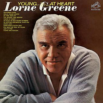 Lorne Greene - Young at Heart [CD] USA import