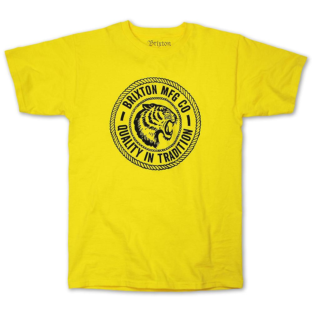 Brixton Cambridge t-shirt giallo