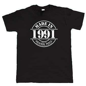 Made in 1991 Mens Funny T Shirt