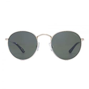 Levis Metal Round Sunglasses In Gold