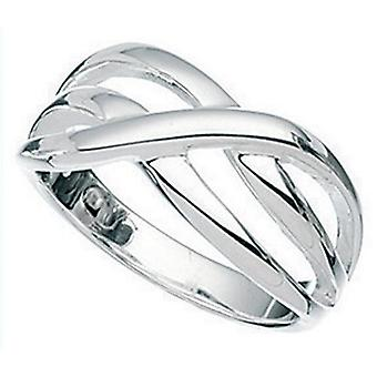 925 Silver Interlaced Ring