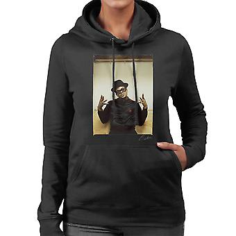 Run DMC Darryl McDaniels Women's Hooded Sweatshirt