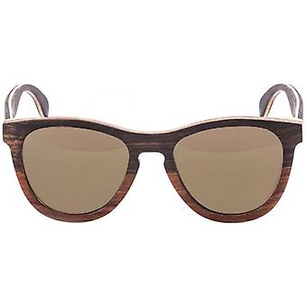 Ocean Wedge Sunglasses - Brown/Brown