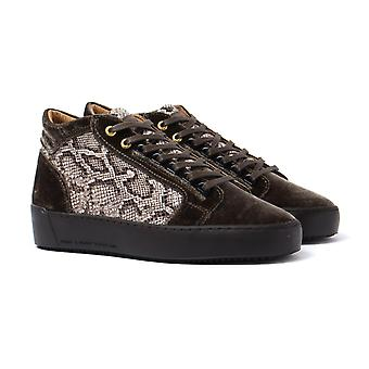 Android Homme Propulsion Mid Brown Velvet Trainers