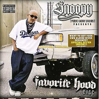 Enemigo público Snoopy Studios presenta - importación de Estados Unidos favorito campana disco [CD]