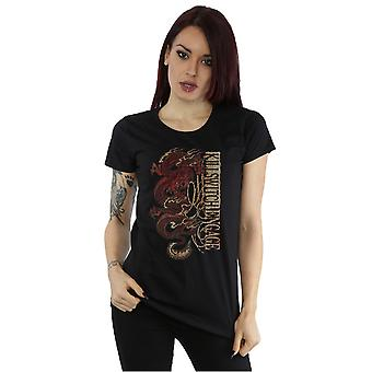 Killswitch Engage Women's Red Dragon T-Shirt