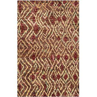 Alaca brun geometriske Jute tæppe - Safavieh
