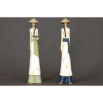 Wellindal Vietnamese Woman 47Cm (Decoration , Figures and statues)