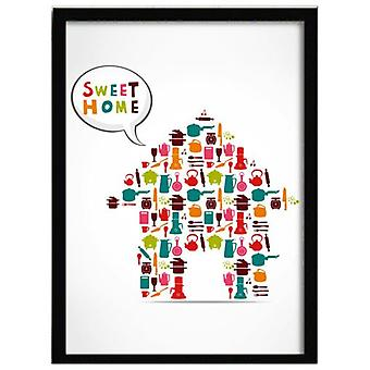 Superstudio таблицы деревянные рамы Sweet Home-33 X 43--HCN2104-87