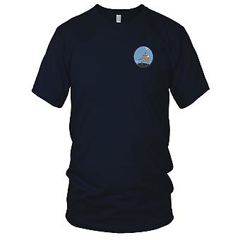 USAF Airforce - 186th Fighter Squadron Embroidered Patch - Hook And Loop Ladies T Shirt