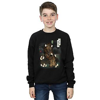 Star Wars Boys The Last Jedi Japanese Chewbacca Porgs Sweatshirt