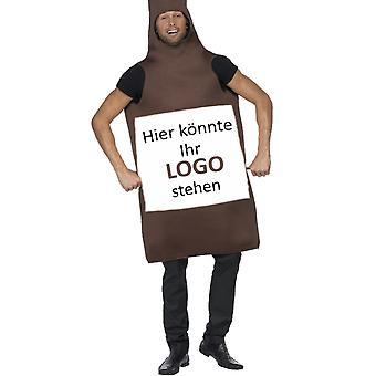 Beer costume beer beer bottle costume for printing on plain