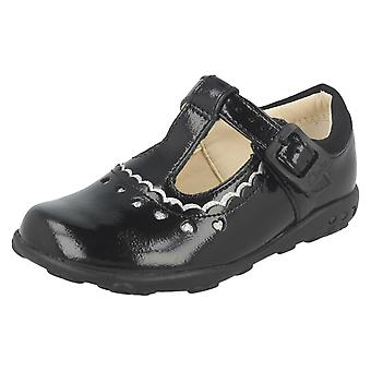 Girls Clarks First T-Bar Shoes Ella Alice