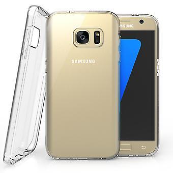 Caseflex Samsung Galaxy S7 wzmocnione Futerał żelowy TPU - jasne