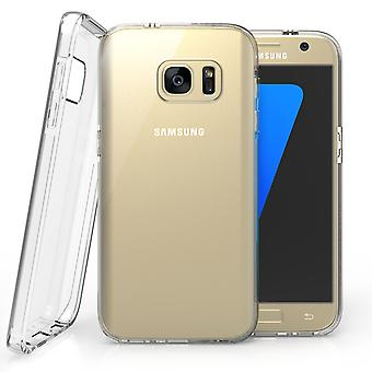 Caseflex Samsung Galaxy S7 Reinforced TPU Gel Case - Clear