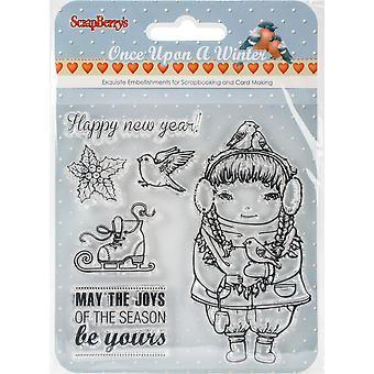 ScrapBerry's Once Upon A Winter Clear Stamps 4