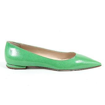 V 1969 Italia Womens Ballerina Green Chiara